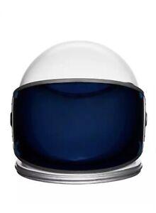 Astronaut Helmet Space Cosplay Halloween Costume Blue Tinted Shield RARE