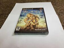 Final Fantasy Xii (Sony PlayStation 2, 2006) new ps2 black label