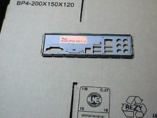 Panneau shield i/o ASUS P5GD1-FM/S REV 1.01 plaque arriere