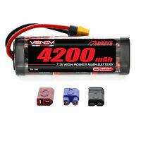 Venom 7.2V 4200mAh RC 6 Cell NiMH Battery with Deans EC3 Traxxas Plug