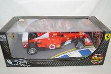 Mattel Hot Wheels FERRARI M.SCHUMACHER 2003 Premiere racing 1/18 Limited Edition