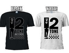 2 Tone Records Two Ska Reggae Rude T-shirt Baseball Vest Men Women Unisex 2627