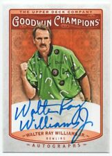 2019 Upper Deck Goodwin Champions Autographs A-WW Walter Ray Williams Jr. Auto