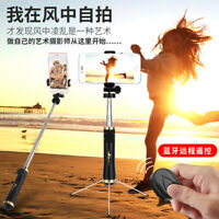 Extendable Tripod Bluetooth Selfie Stick Monopod Universal For Mobile Cell Phone