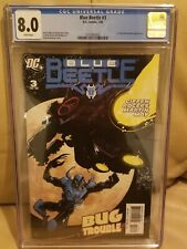 DC Blue Beetle #3 CGC 8.0 1st New Peacemaker Appearance John Cena HBO Series