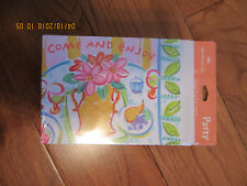 """Hallmark Party Invitations """"Come and Enjoy"""" 8 with White Envelopes"""