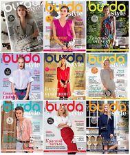 Burda Style Ten Magazines in Russian 01 - 10 / 2017