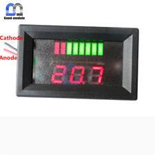 12V ACID Lead Battery Capacity Indicator Red Charge Level LED Tester Voltmeter