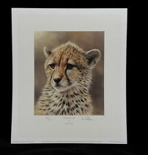Cheetah Cachorro Por Ian Nathan, Edición Limitada, impresión firmada & Estampado