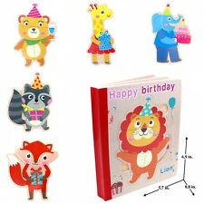 Educational Book Puzzle for Toddlers Baby Kids Children - Happy Birthday