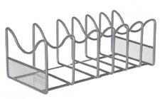 Seville KITCHEN POT & LID STACKING RACK 16.5x34.6x12.5cm Sturdy Metal