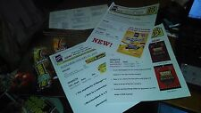 LANCE SNACK FOODS TORESTAS SALES BROCHURE WITH SALES PAGES AND PRODUCT SHEET