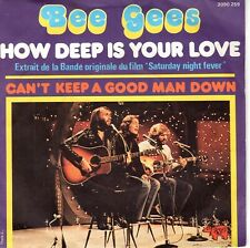 7inch BEE GEES how deep is your love FRANCE 1977 EX+    (S1710)