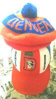2 Vintage Denver Broncos Hat Cap Truckers Hat Snap Back Hat + Acrylic Knit Hat