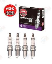 NGK RUTHENIUM HX Spark Plugs LFR5AHX 96355 Set of 4