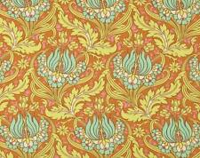 Amy Butler - Soul Blossoms -  Temple Tulips  - Butterscotch-Fabric - 1/ 2 Yard