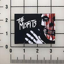 "Misfits Skull 3"" Wide Vinyl Decal Sticker BOGO"