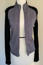 Ibex merino Shak jacket, blue with black, M