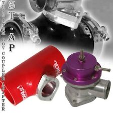"""Type -S Purple Turbo Bov Adjustable Jdmsport 2.5"""" Reinforce Silicone Adapter Red"""