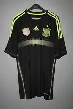 SPAIN NATIONAL TEAM 2014 2015 AWAY FOOTBALL SHIRT JERSEY ADIDAS