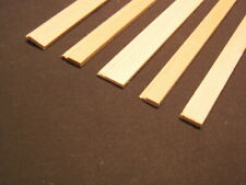 Baseboard - Plain / Economy Dollhouse basswood Trim MW12005  6pcs 1/12 scale