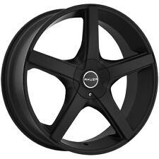 "20"" Inch Akuza 848 Axis 20X8.5 5x115/5x120 +35mm Flat Black Wheel Rim"