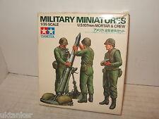 Tamiya MM219 US 107mm Mortar et équipage Kit Modélisme en 1:3Échelle 5