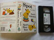 SPOT Eric Hill Spot's Alphabet Spot's Busy Year englisch FSK ab 0 Jahre VHS gebr