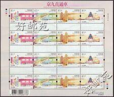 China Hong Kong 2002 Beijing - Kowloon Through Trains stamps full sheet