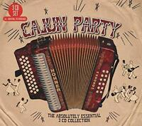 Cajun Party - The Absolutely Essential Collection - Various (NEW 3CD)