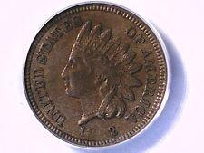 1862 Indian Head Cent PCGS AU 55 12410584 Video