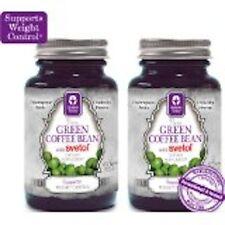 2 Bottles Genesis Today 100% Pure Green Coffee Extract w/ Svetol 90 Veg Caps