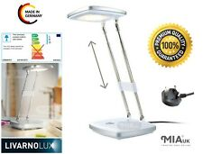 LivarnoLUX® Computer PC Reading Desk Lamp Adjustable Head LED Energy saving NEW!