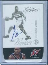2012-13 Panini Signatures Trevor Booker Autograph Washington Wizards Die-cut