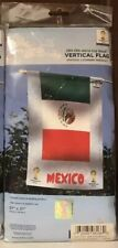 """WinCraft 2014 FIFA World Cup Mexico Vertical Flag New 27""""x37"""" National Soccer"""