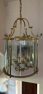 brass lantern ceiling light