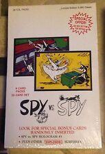 MAD Spy vs Spy Trading Cards Limerock 1992 MISB