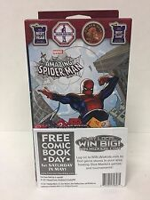 Marvel Dice Masters Amazing Spider-Man - 2 Player Starter With FCBD Rocket Promo