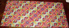 """Tie Dye new Small pattern Vinyl 12"""" X 24"""" sheet"""