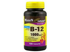 100 TABLETS VITAMIN B 12 1000 MCG SUBLINGUAL Heart Health B12 B-12