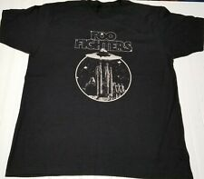 Foo Fighters Alien Spaceship Ufo Planet Black T-Shirt Abduction Tee Men Xl
