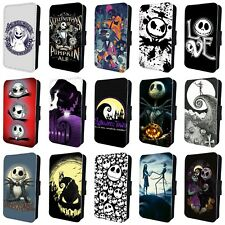NIGHTMARE BEFORE CHRISTMAS HALLOWEEN FLIP PHONE CASE COVER for iPHONE 5 6 7 8 X
