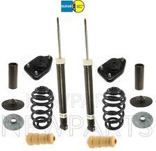 For BMW E83 Rear Shocks & Coil Springs Shims Mounts Bellows Bump Stop Kit