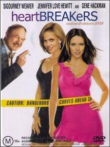 HEARTBREAKERS Sigourney WEAVER Jennifer LOVE HEWITT DVD Region 4 Heart Breakers