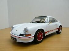 1 18 Welly Porsche 911 2.7 Carrera RS 1973 White/red