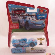 Disney Pixar Cars Chase Dinoco Lightning McQueen with Piston Cup #102 - worn pk.