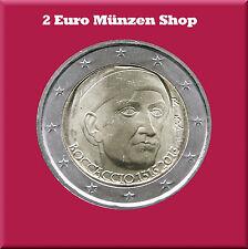 """2 Euro Gedenkmünze Italien 2013 """"700. Geburtstag von Giovanni Boccaccio"""""""