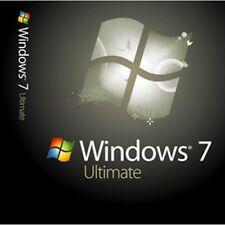 Microsoft Windows 7 Ultimate 64bit + clave de activación + 1 USB de arranque