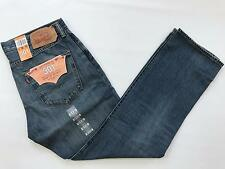 Mens Levi's Original Fit 501 Blue Jeans Size 36 X 32 Straight Leg Button Fly NWT