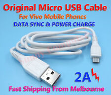Original Micro USB Data Charger Adapter Cable For Vivo X20 Plus V7+ X20 Y69 AU